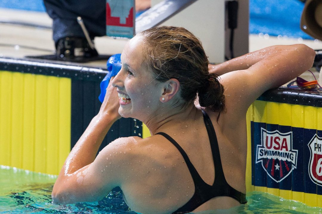 Cassidy Bayer Breaks 34-Year Old NAG Record at Tom Dolan in 200 Yard Fly