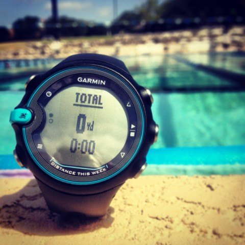 Garmin Swim Watch, ready for the workout
