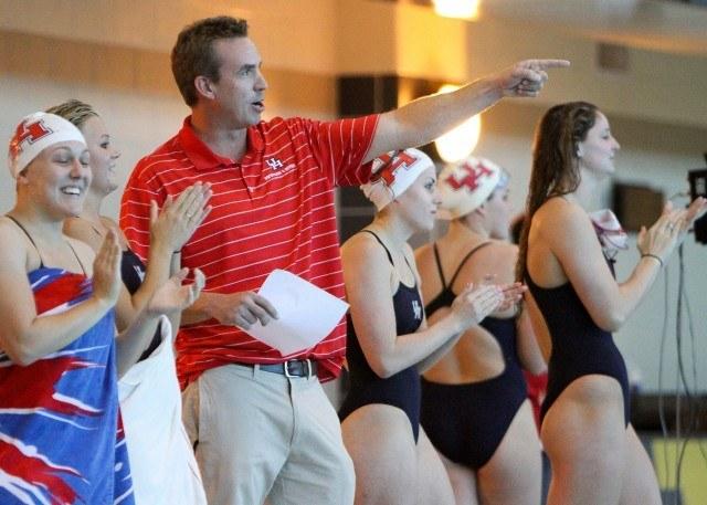 Augie Busch, New Virginia Head Swim Coach (Courtesy: University of Houston Athletics)