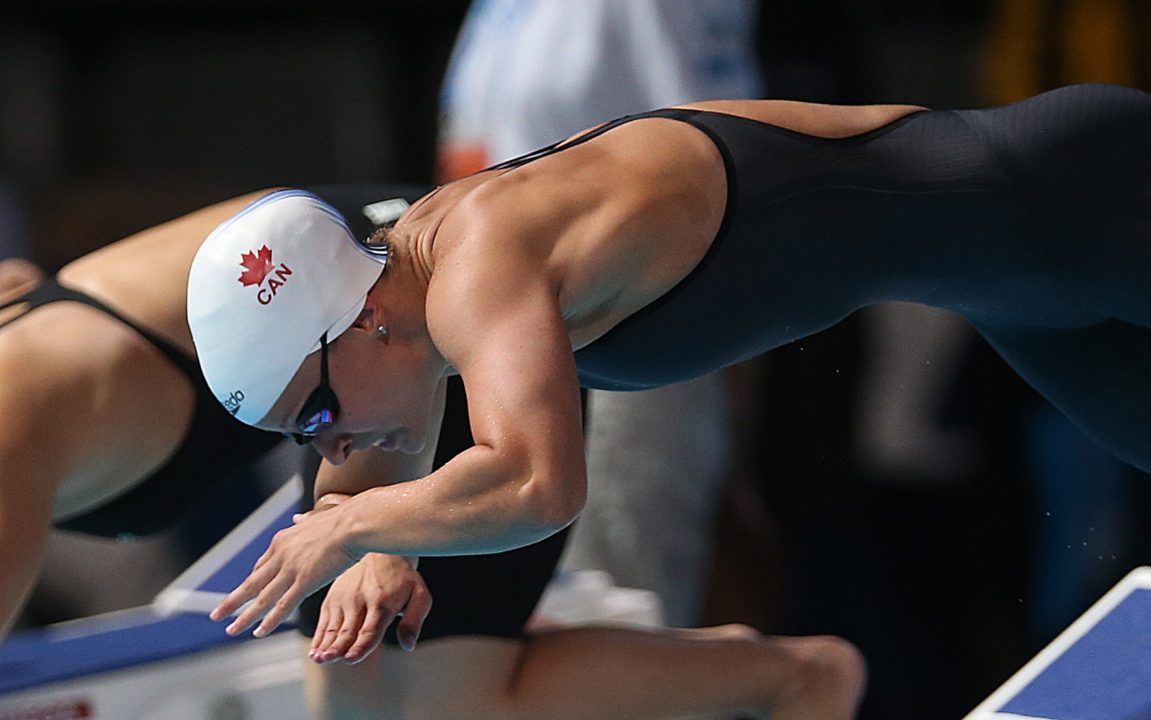 Savard Breaks Canadian Record In The 100 Butterfly In A Time Of 57.27