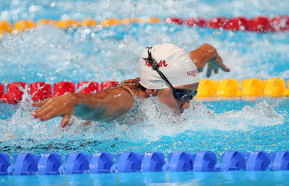 Canadian National Record Holder, World Champs Finalist, Noemie Thomas Verbals to Cal