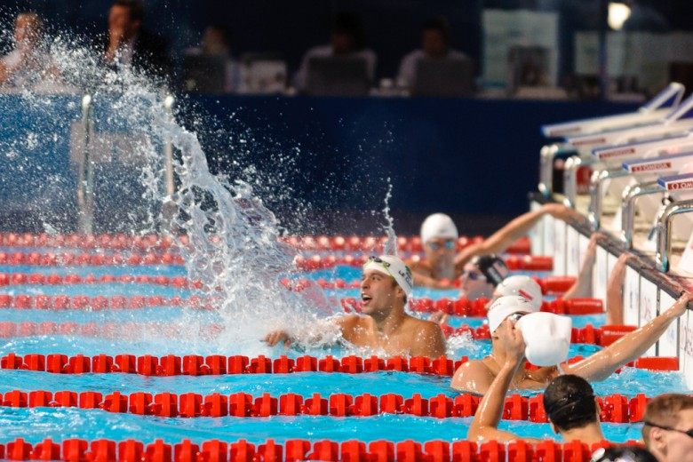 2013 FINA World Day 4 Finals Photo Vault: Le Clos Defends Butterfly Crown