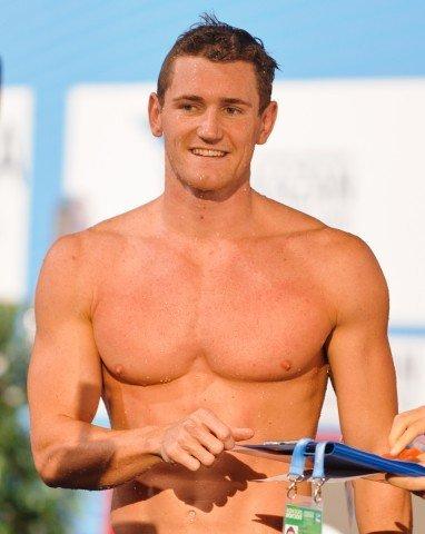 Cameron van der Burgh, 50 breaststroke winner, 2013 FINA World Championships in Barcelona, Spain (Photo Credit: Victor Puig, victorpuig.com)