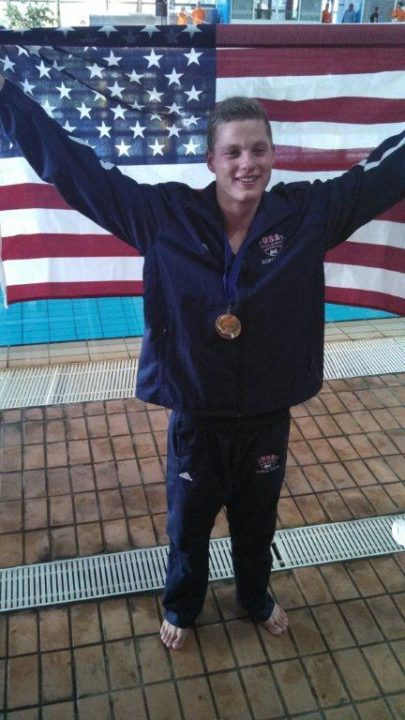 Klotz is Golden: California Teenager Wins First Gold; Breaks Deaf World Record
