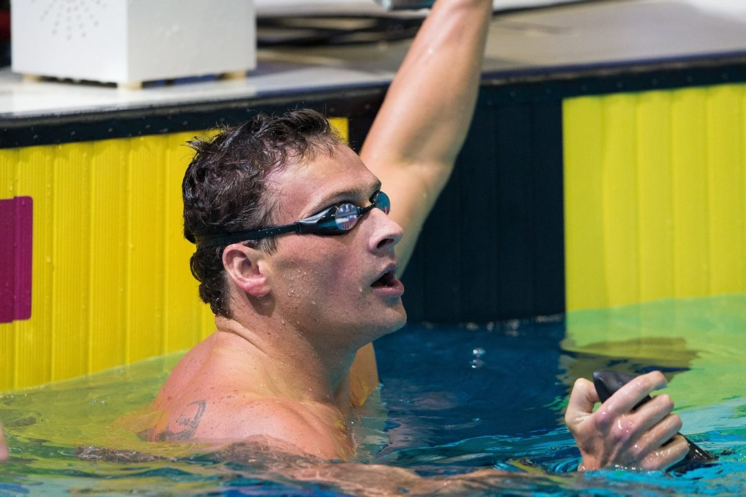 Lochte, Phillips, Adams, Schneider – Watch a Selection of Day 2 Aquatic Super Series Races