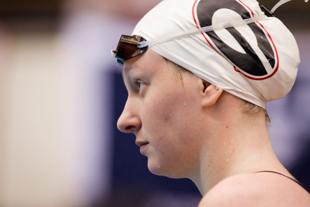 Margalis Swims 4:06 400 IM; 59.3 100 Breast in Same Prelims Session at Auburn Invite