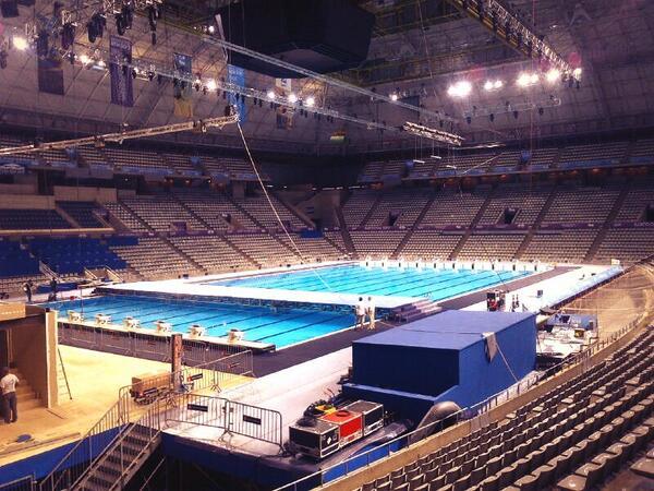 FINA Inaugurates Pool at Palau Sant Jordi for World Championships