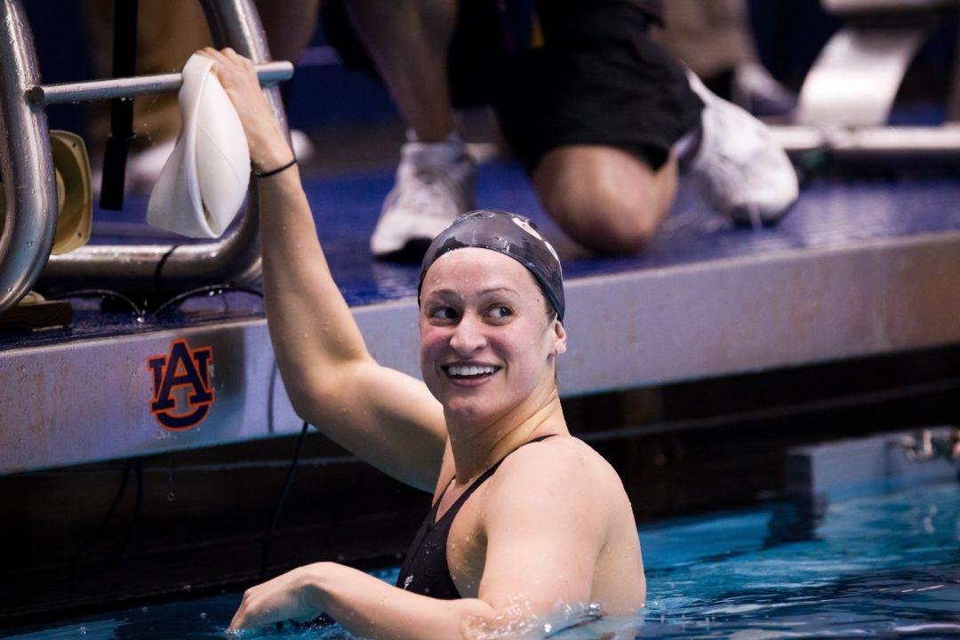 Clutch Swim 2013 Swammy Winner, Megan Romano