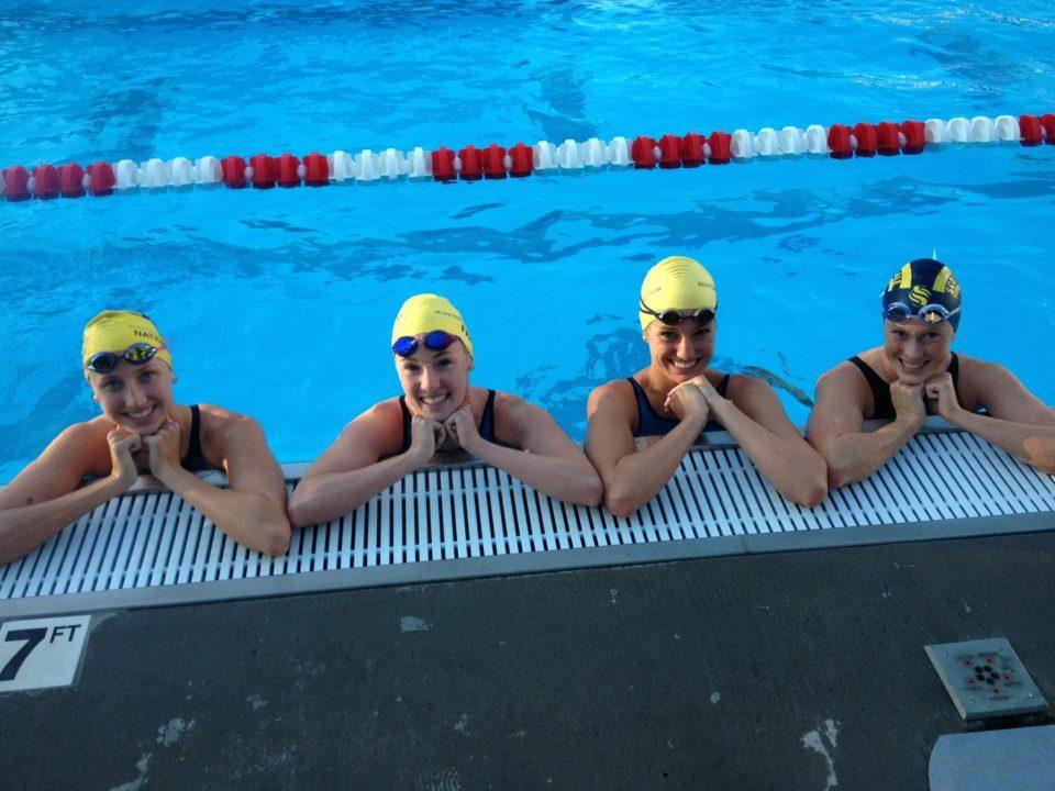 Scottsdale Aquatic Club Girls Break Another NAG Record