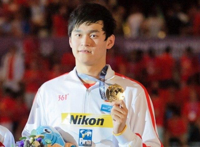Sun Yang, winner, men's 400 free, 2013 FINA World Championships (Photo Credit: Victor Puig, victorpuig.com)