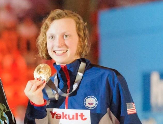 Katie Ledecky, winner, women's 400 free, 2013 FINA World Championships (Photo Credit: Victor Puig, victorpuig.com)