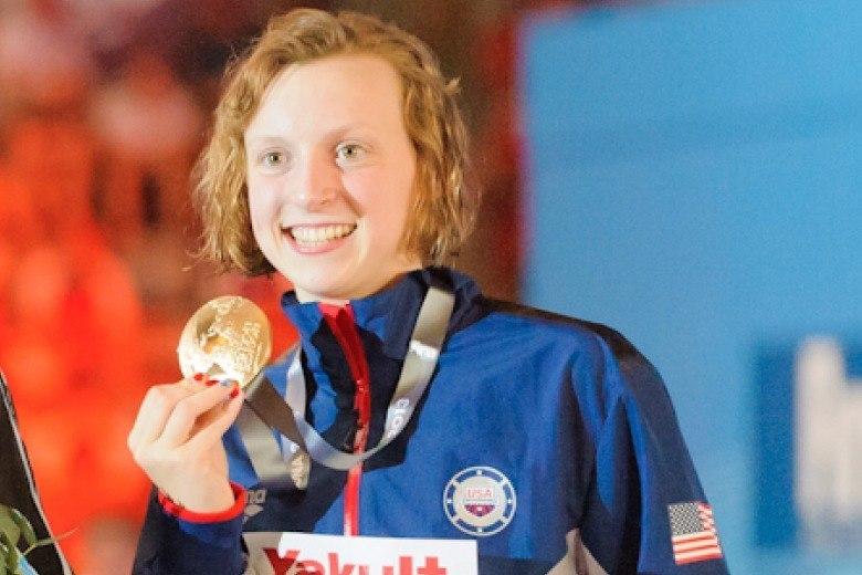 Katie Ledecky Nominated For the 2013 Sullivan Award