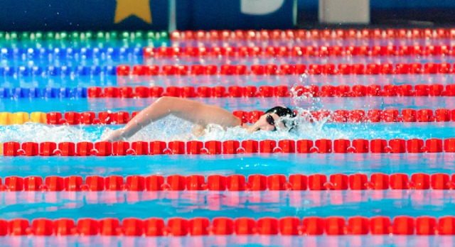 Katie Ledecky runs away, swim alone to win women's 400 free at the  2013 FINA World Championships (Photo Credit: Victor Puig, victorpuig.com)