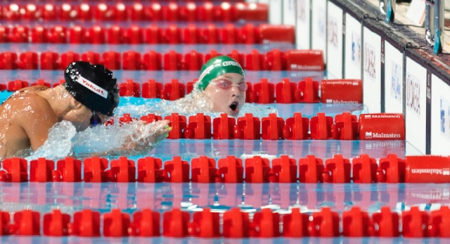 Ruta Meilutyte, 100 breaststroke final, New World Record, 2013 FINA World Championships (Photo Credit: Victor Puig, victorpuig.com)