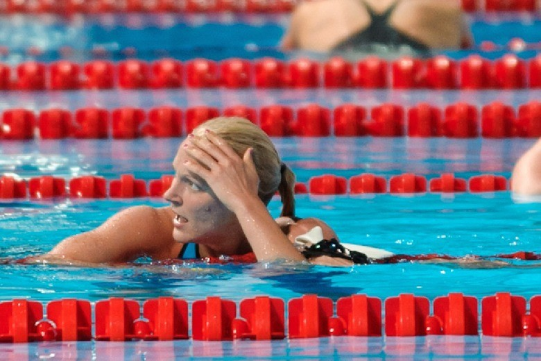 Sjostrom Swims A Surprising Swedish Record In The 400 Freestyle