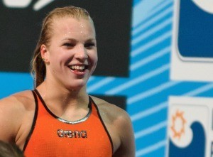 Ruta Meilutyte, 100 breaststroke prelim, 2013 FINA World Championships (Photo Credit: Victor Puig, victorpuig.com)