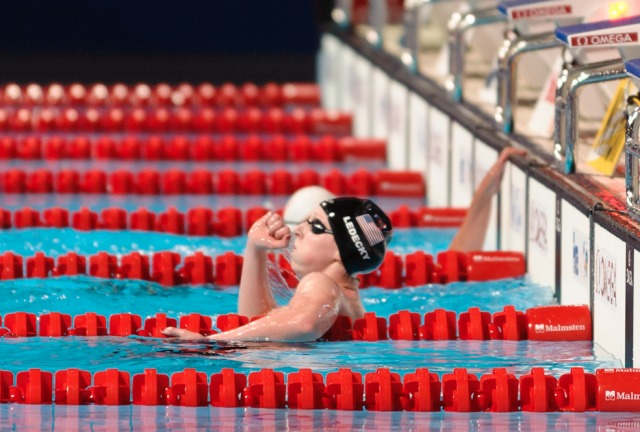 Katie Ledecky, 1500m Freestyle World Record at the 2013 FINA World Championships in Barcelona, Spain (Photo Credit: Victor Puig, victorpuig.com)