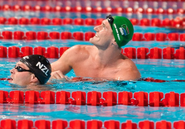 Cameron van der Burgh, breaststroke winner, 2013 FINA World Championships in Barcelona, Spain (Photo Credit: Victor Puig, victorpuig.com)