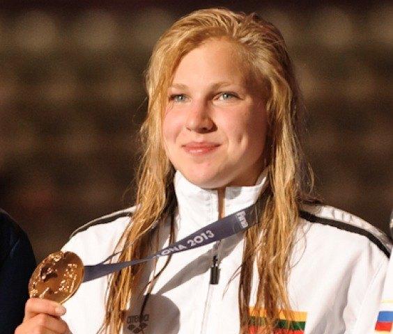 Ruta Meilutyte, 100 breaststroke winner, 2013 FINA Worlds (Photo Credit Victor Puig, victorpuig.com)