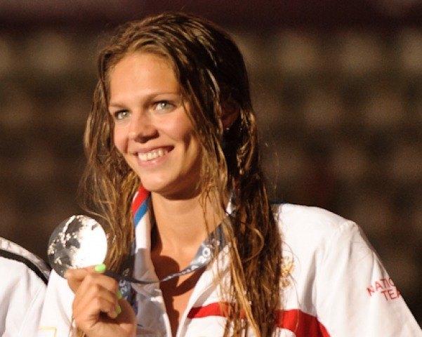 Yuliya Efimova,100 breaststroke silver medalist, 2013 FINA Worlds (Photo Credit Victor Puig, victorpuig.com)