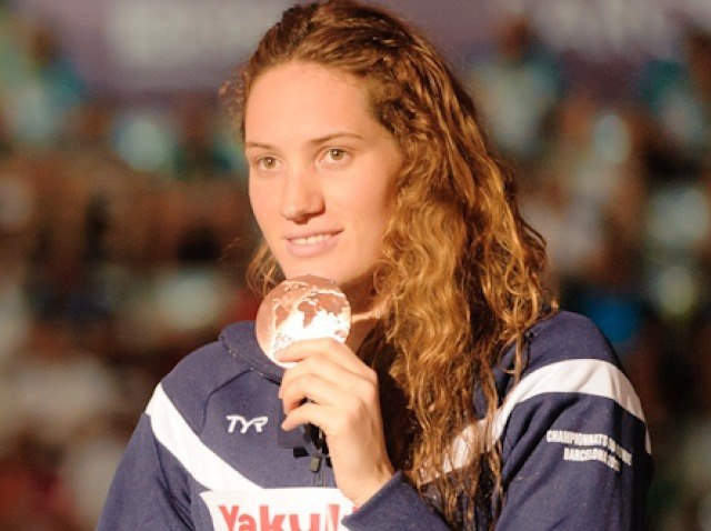 Camille Muffat, 200 Freestyle Final, 2013 FINA World Championships (photo credit: Victor Puig, victorpuig.com)