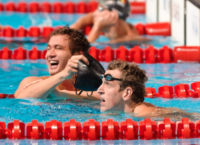 Nathan Adrian, 100 freestyle semi final, 2013 FINA World Championships (photo credit: Victor Puig, victorpuig.com)