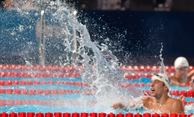 Chad le Clos,  200 butterfly Final, 2013 FINA World Championships (photo credit: Victor Puig, victorpuig.com)