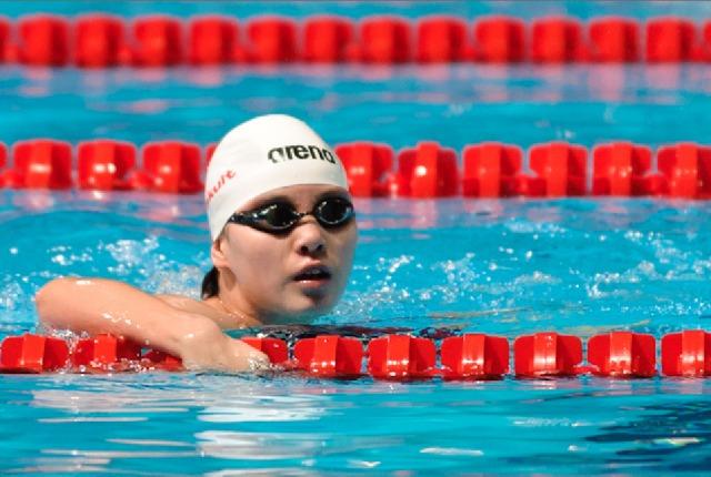 Fu Yuanhui, 50 backstroke prelm, 2013 FINA Worlds (Photo Credit Victor Puig, victorpuig.com)