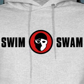 SwimSwam classic hoodie (grey)