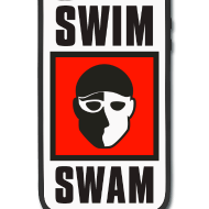 SwimSwam square iPhone case