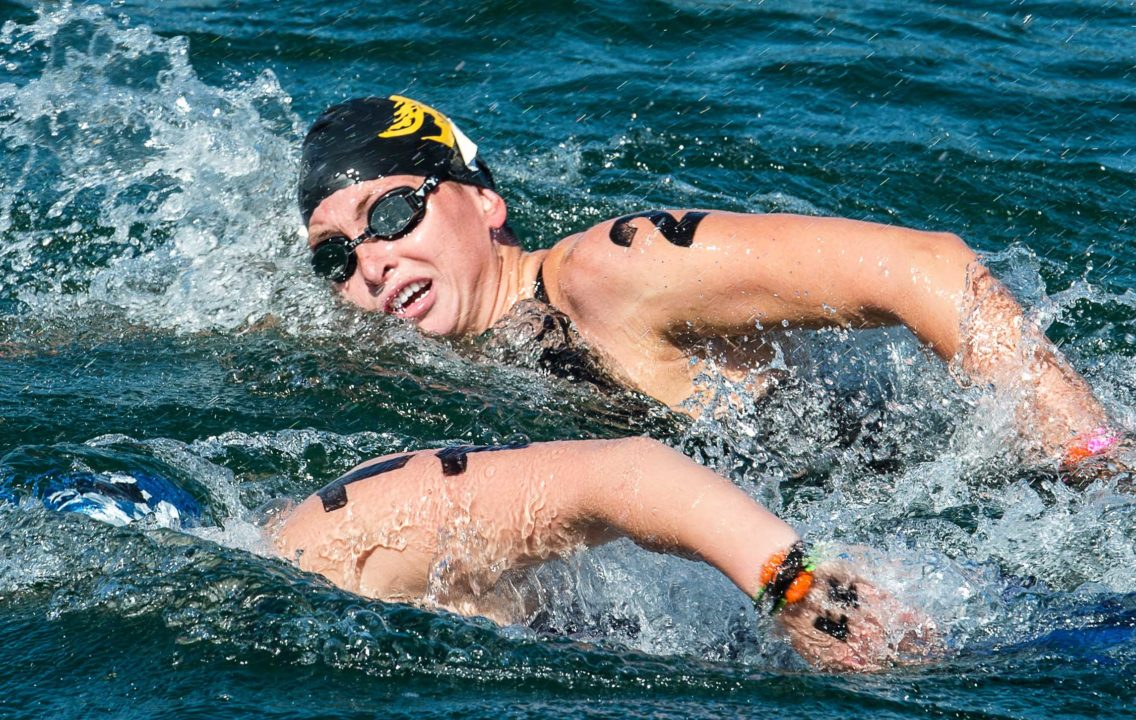Taking one for the team – USA looking strong for 5K open water pursuit event