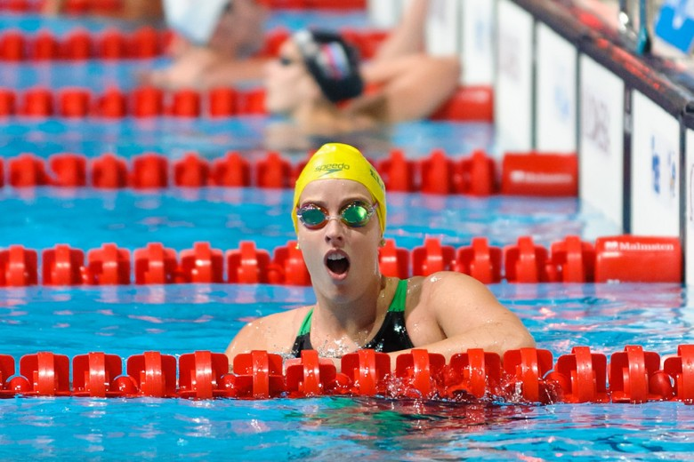 Elmslie Gets the Best of Barratt in the 200 freestyle at the Victorian Championships