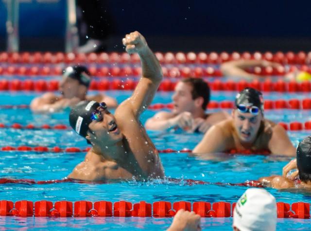 Daiya Seto, men's 400 IM final, 2013 FINA World Championships (Photo Credit: Victor Puig)