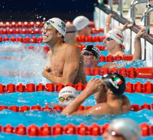 Chad le Clos, 100 butterfly final, winner, 2013 FINA World Championships (Photo Credit: Victor Puig)