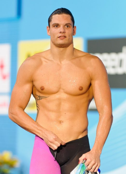 Manaudou sets new World Textile Best 100 free at French Short-Course Championships Finals