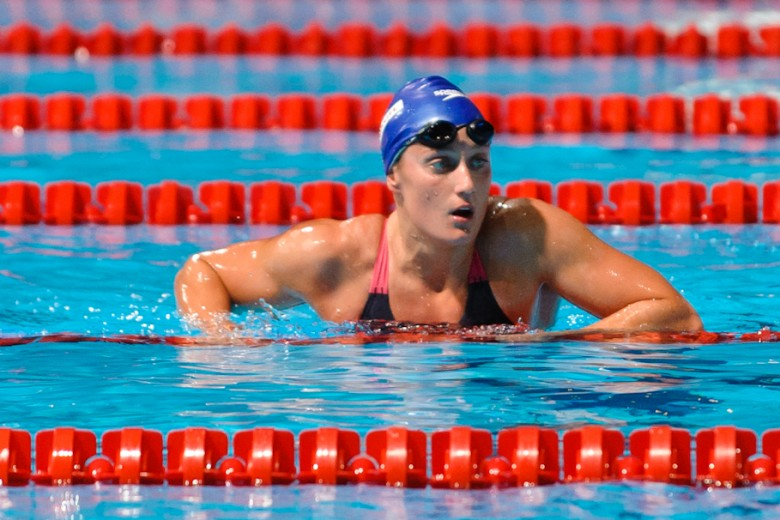 Belmonte's Focus Remains in the Pool