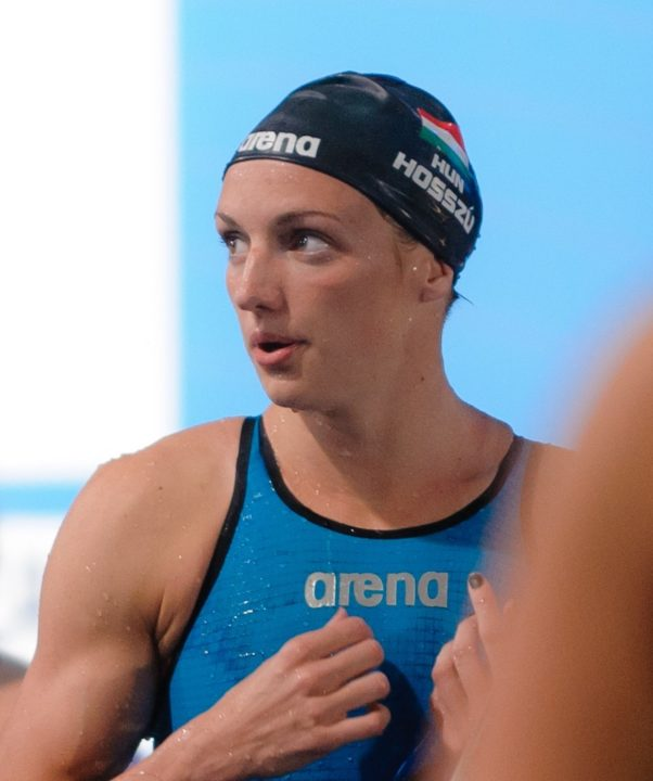 Singapore Day One FINA Point Leaders