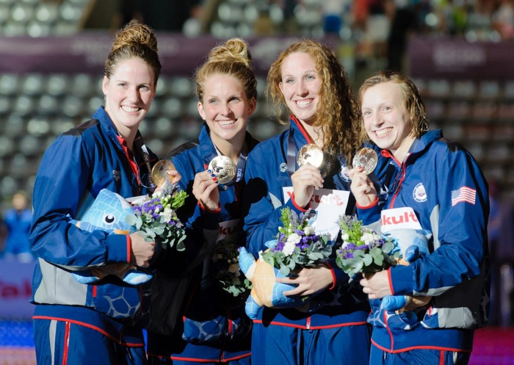 Franklin, Ledecky nominated for USSA Athlete of the Year