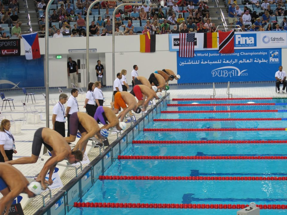Chimrova Breaks 4th Meet Record in 100 Fly Prelims on Day 5 at Junior World CHampionships