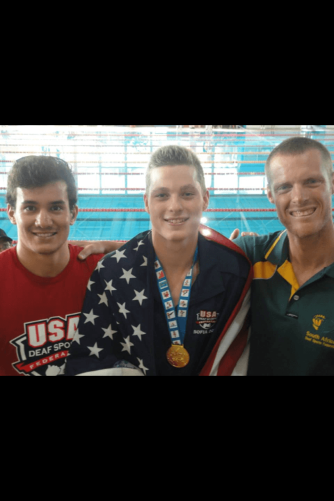 Klotz Breaks 2nd Deaf World Record to Close 2013 DeafLympics Swimming Events