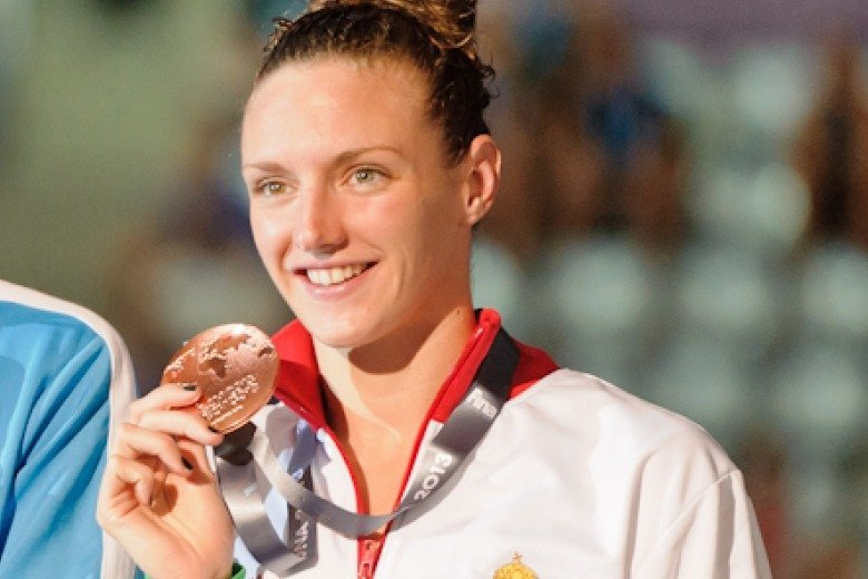 Katinka Hosszu Breaks World Record in 100 IM For 3rd Time in a Week