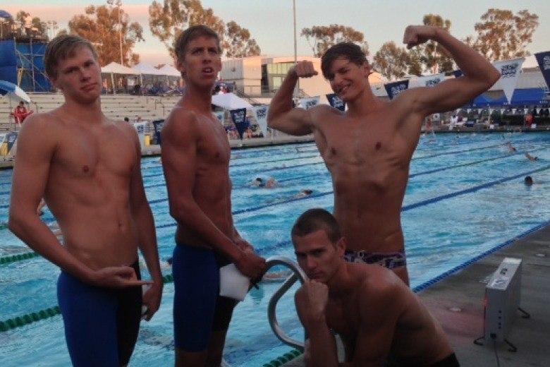 SwimMAC Carolina Men Break 17-18; 15-18 National Age Group Relay Records