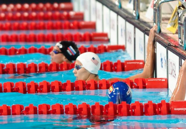 Micah Lawrence, 200 breaststroke prelim, 2013 FINA Worlds (Photo Credit Victor Puig, victorpuig.com)
