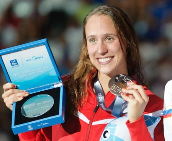 200 breaststroke winner, 2013 FINA World Championships (Photo Credit: Victor Puig)