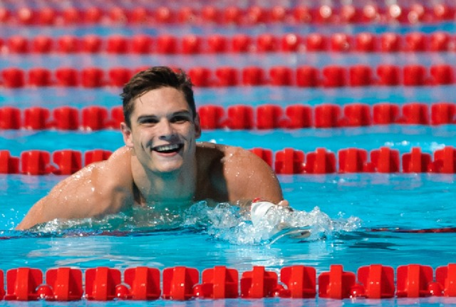 Florent Manaudou, Men's 50 freestyle semi final, 2013 FINA World Championships (Photo Credit: Victor Puig)