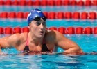 Mireia Belmonte Garcia, 800 freestyle relay prelim,  2013 FINA Worlds (Photo Credit Victor Puig, victorpuig.com)