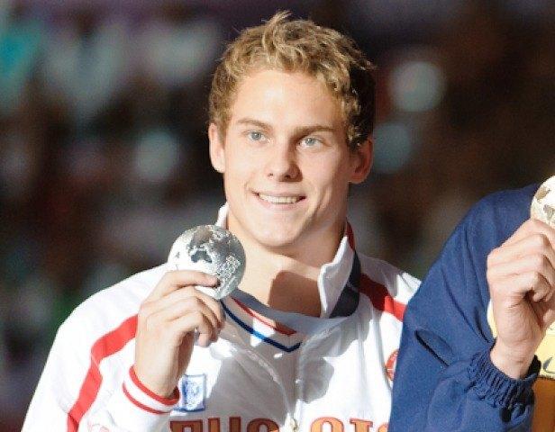 Vlad Morozov, 50 freestyle final, 2013 FINA World Championships (Photo Credit: Victor Puig)