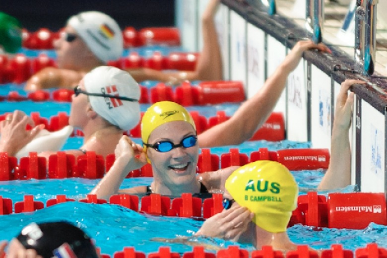 Australia Leads Commonwealth Games Swimming Medal Count After Day 1