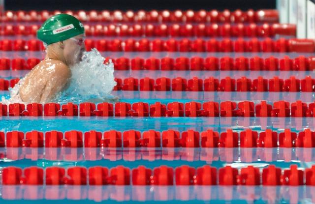 Ruta Meilutyte, 50 breaststroke prelim, 2013 FINA World Championships (Photo Credit: Victor Puig)