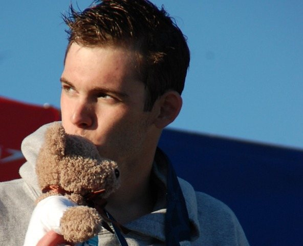 Gunnar Bentz broke several NAG records in Individual events as well as relays. (Photo Credit: Anne Lepesant)
